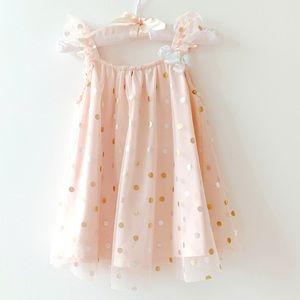 Catherine Malandrino soft pink toddler dress